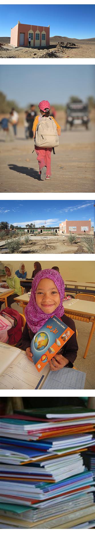 maroc humanitaire école
