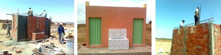 Bloc sanitaire tafraout