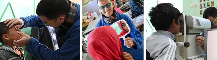 Article Opération lunette enfants du désert maroc
