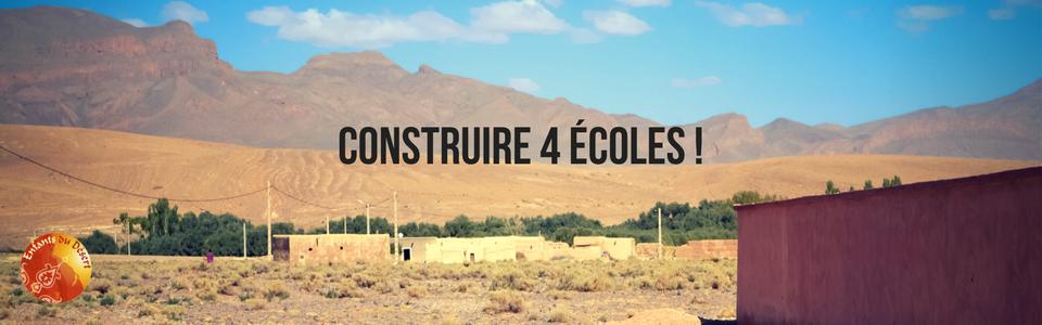 Construire 4 écoles !