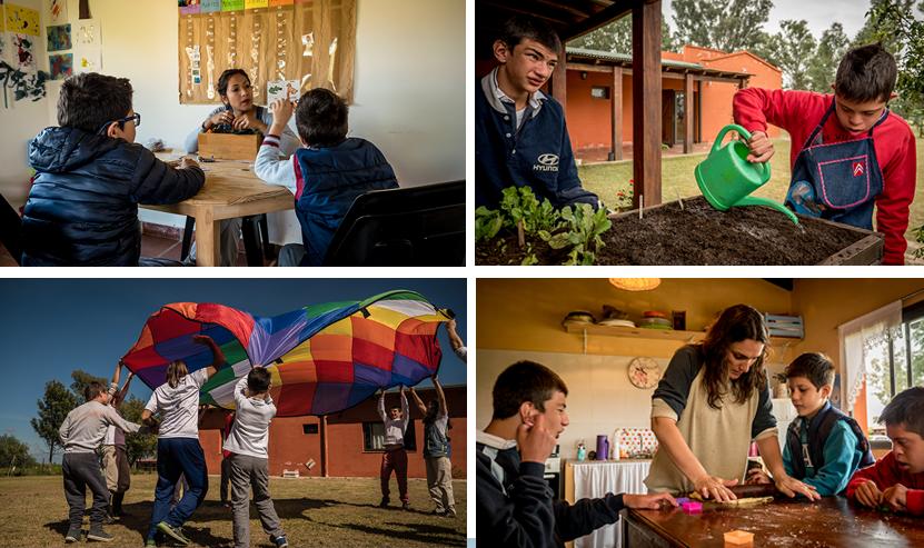 solidarité enfants du désert argentina trophy