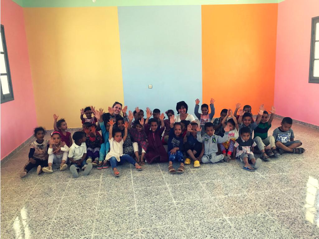 école maternelle désert